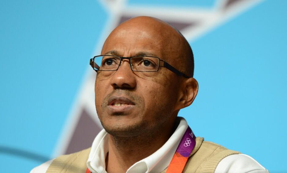 SUSPENDERT: Frankie Fredericks gikk tidligere i år av som leder for IOC-kommisjonen som evaluerer kandidater til å arrangere OL i 2024. Foto: Findlay Kember / AFP Photo / NTB Scanpix