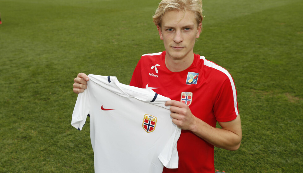 DEBUTANT: Morten Thorsby er med på sin første samling for A-landslaget. Foto: Terje Bendiksby / NTB scanpix