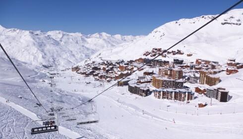 LANDSBYER: Det største resortområdet i Courchevel ligger på 1850 meter, og heisene tar deg ytterligere opp mot toppene