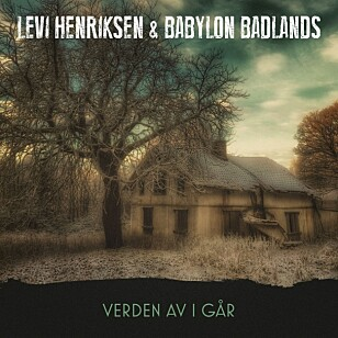 """PLATE NUMMER TO med Levi Henriksen & Babylon Badlands, med samme motiv som på omslaget til Levi Henriksens nye roman """"Her hos de levende""""."""