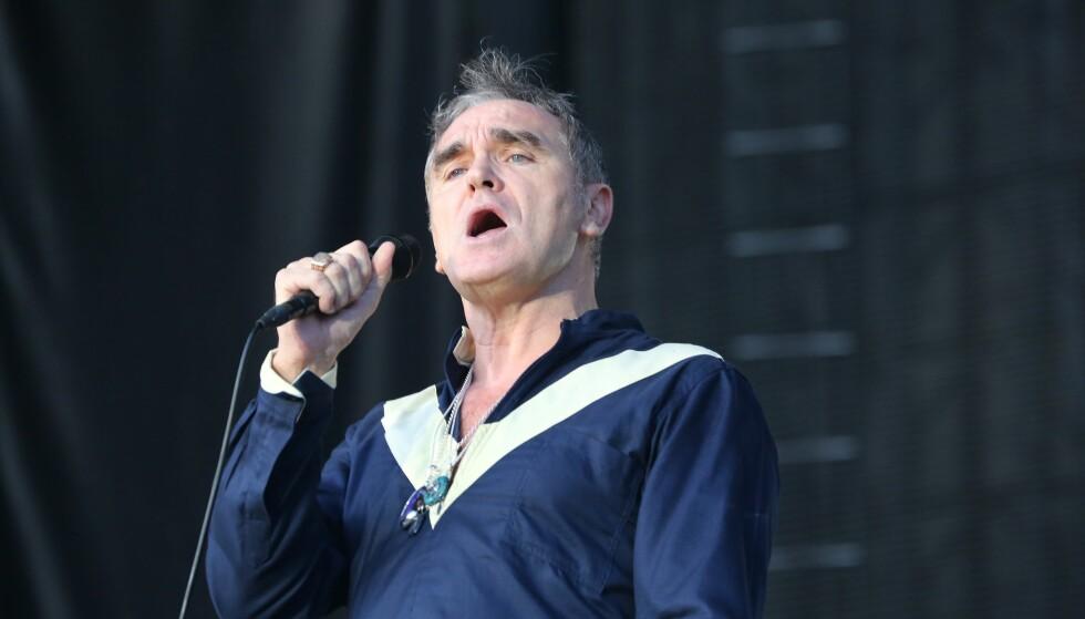 KALD: Artisten Steven Patrick Morrissey (58) skuffet mange fans da han avlyste en konsert i siste liten fordi det var kaldt. Foto: NTB Scanpix