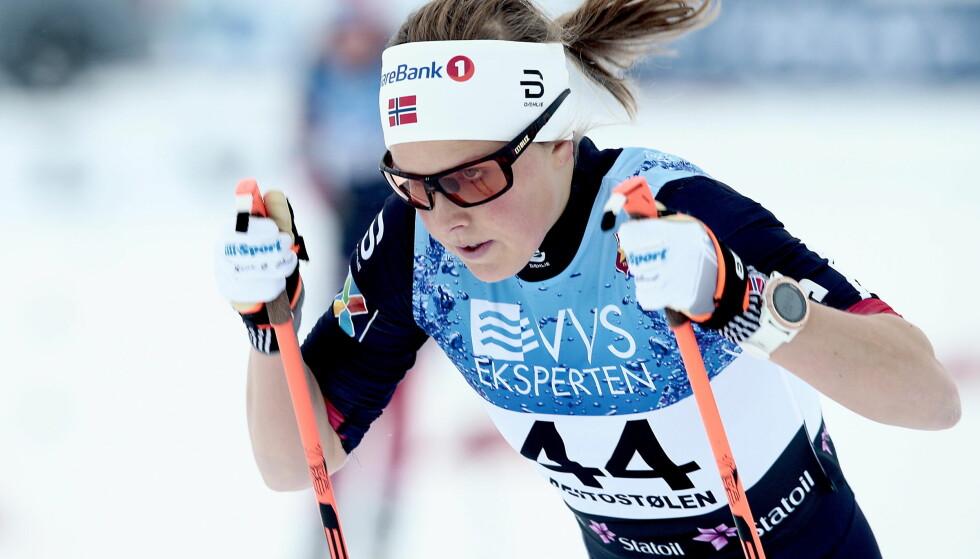 HAR PROBLEMER: Ifølge landslagstrener Roar Hjelmeset vil Slind trolig ikke bli klar for sesongstart før verdenscupen på Lillehammer i desember. Foto: Bjørn Langsem / Dagbladet