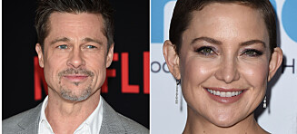 Kate Hudson bryter tausheten om romanseryktene med Brad Pitt