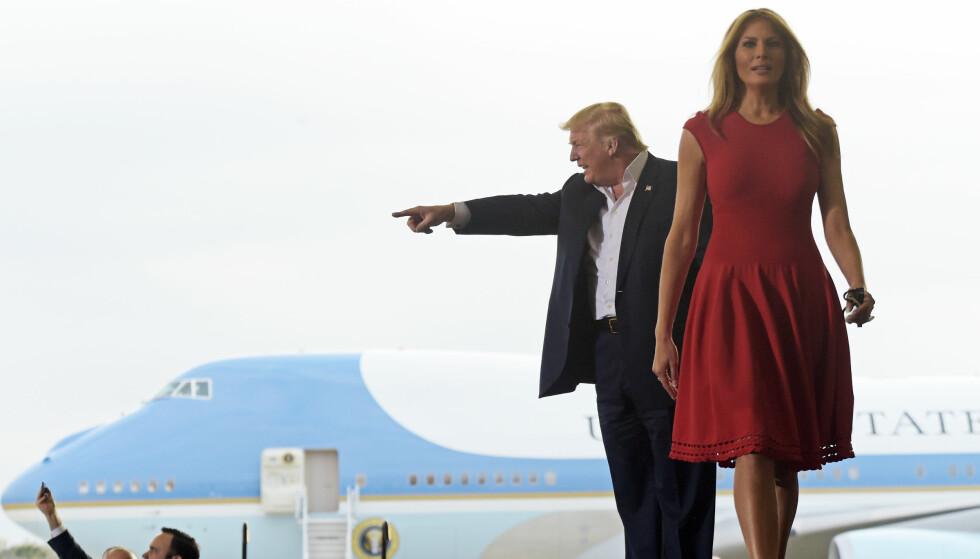 BEST LIKT: Etter sitt første år som førstedame er Melania den mest populære i Trump-familien. Foto: NTB Scanpix.