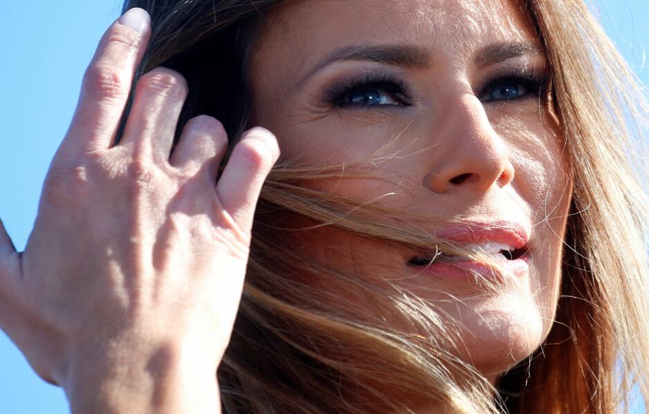 ETT ÅR SOM FØRSTEDAME: At Melania Trump (47) har hatt et særdeles turbulent år som helt ny førstedame, er ingen hemmelighet. Nå tar ekspertene for seg hennes første år som presidentfrue. Foto: NTB Scanpix