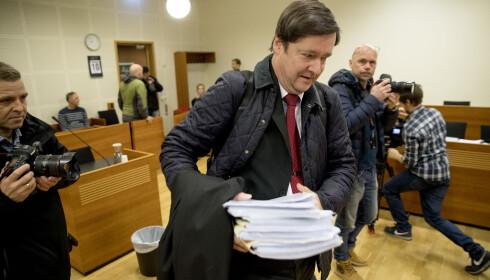 FORSVARER: Kristian Valens forsvarer John Christian Elden. Foto: Bjørn Langsem / Dagbladet