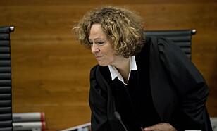 DOMMER: Dommer Elizabeth Baumann i Borgarting lagmannsrett. Foto: Bjørn Langsem / Dagbladet