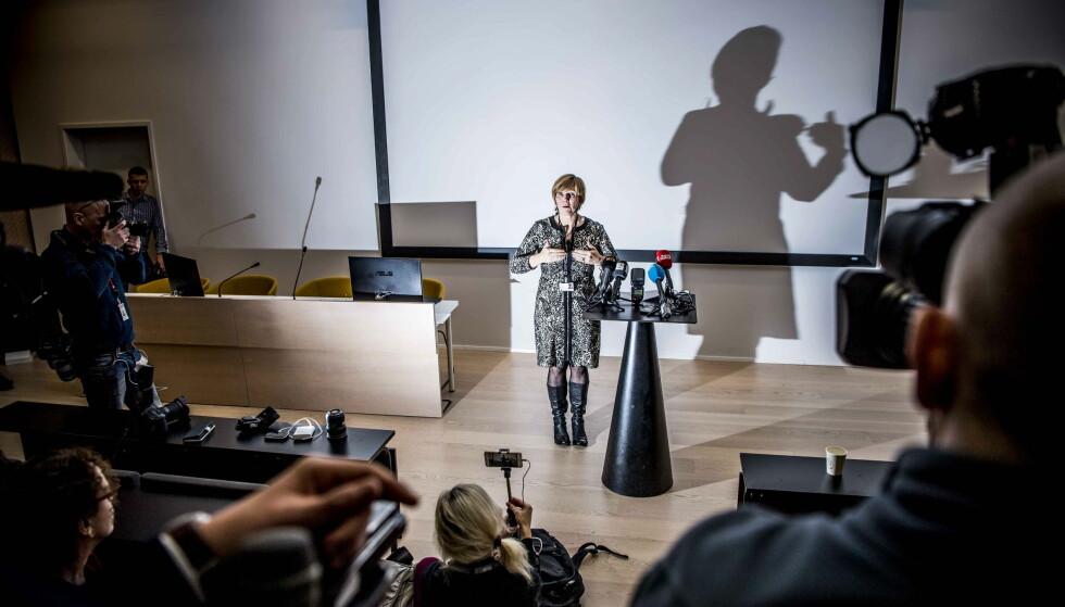 FORSVARTE SEG: Christine Meyer. Foto: Thomas Rasmus Skaug / Dagbladet