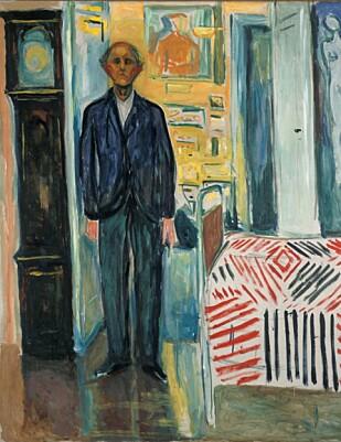 HOVEDBILDET: Utstillingen Edvard Munch: Mellom klokken og sengen viser i følge Munchmuseet en samling av Munchs mest oppriktige og tekniske dristige verk. Nærmere 215 000 besøkte utstillingen da den ble vist ved SF MOMA. Foto: Munchmuseet