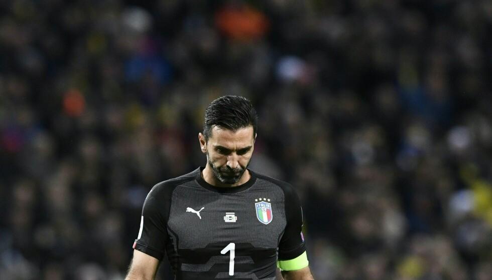 DEPPER: Gianluigi Buffon. Foto: NTB Scanpix