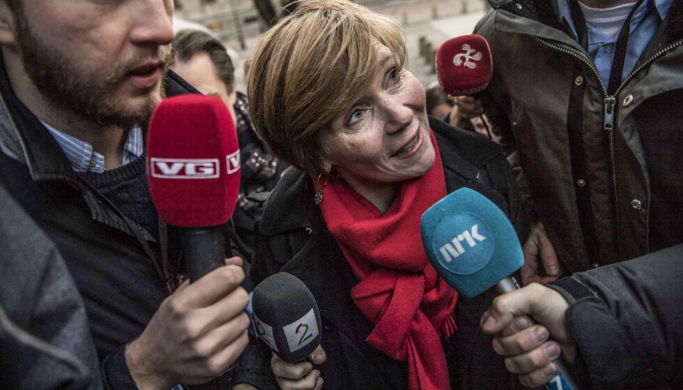 BRÅK: Mens det har stormet rundt SSB-direktør og tidligere Høyre-politiker Christine Meyer, har det vært stille fra Høyre. Foto: Thomas Rasmus Skaug / Dagbladet