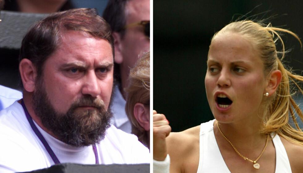 BLE MISHANDLET: I boka Unbreakable forteller Jelena Dokic om hvordan faren Damir Dokic mishandlet henne på det groveste. Foto: Mike Egerton / PA Photos / Kieran Doherty / Reuters / NTB Scanpix