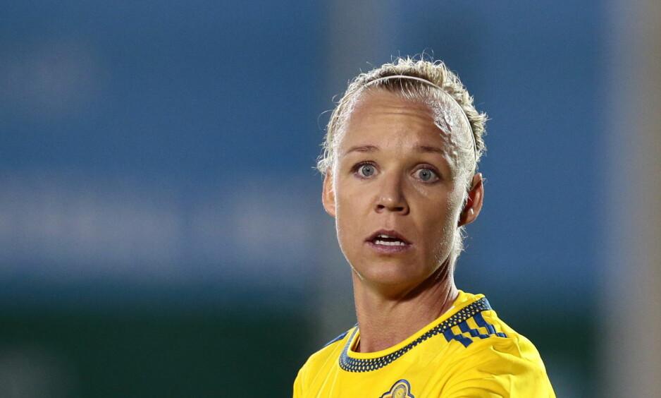Boikott: Caroline Seger og resten av det svenske kvinnelandslaget har bestemt seg for å boikotte den svenske fotballgallaen neste mandag. Foto: Håkon Mosvold Larsen / NTB scanpix