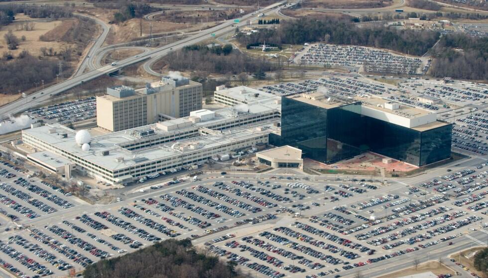 IKKE USÅRBART: NSAs hovedkvarter i Fort Meade i Maryland utenfor Washington D.C. er likevel ikke så vanntett som man tidligere trodde. Foto: Saul Loeb / AFP / NTB Scanpix