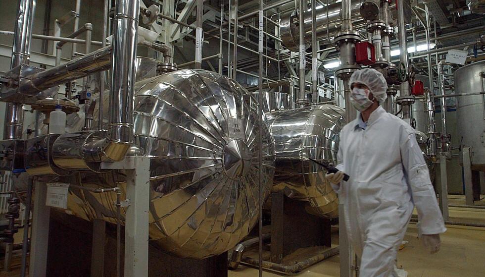 ØDELAGT AV MALWARE: Kritiske deler av det iranske atomanlegget i Natanz selvdestruerte på grunn av NSAs plantede malware i «Operation Olympic Games»). Foto: Vahid Salemi / AP / NTB Scanpix