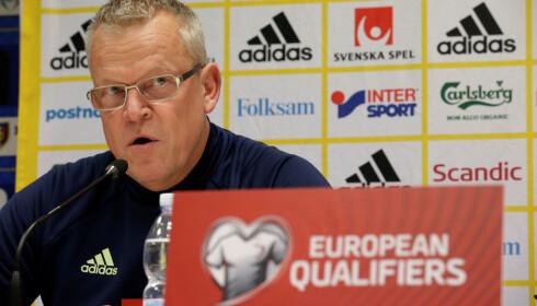 OPTIMIST: Sverige-sjef Janne Andersson. Foto: Reuters
