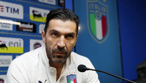 VETERANT: Gianluigi Buffon. Foto: AP Photo/Antonio Calanni)