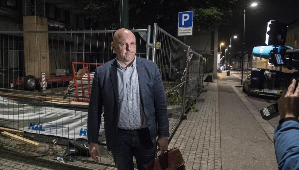 FÅR IKKE FORSVARE: Ole Andreas Thrana får fortsatt ikke forsvare den dobbeltdrapsiktede kvinnen fra Kristiansand.. Foto: Lars Eivind Bones / Dagbladet