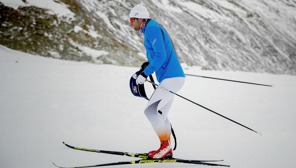 IKKE I FORM: Petter Northug. Foto: Bjørn Langsem / Dagbladet.