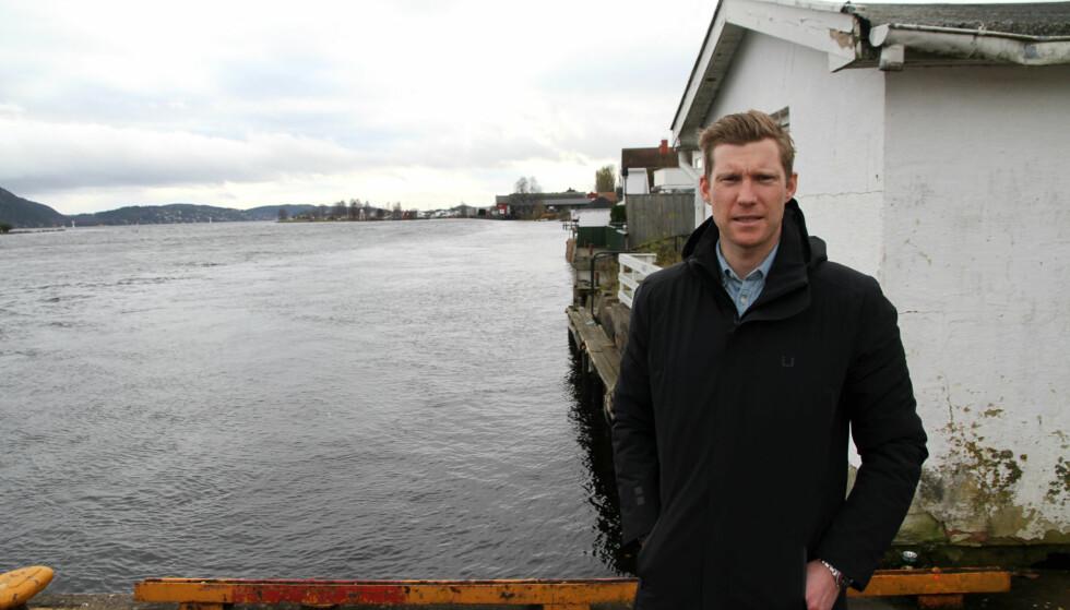 GIR SEG PÅ TOPPNIVÅ: Lars Petter Nordhaug (33) har mange imponerende prestasjoner å se tilbake på etter åtte sesonger som proffsyklist. Nå avslører han overfor procycling.no at sykkeleventyret er over. Her er han avbildet der han ble norgesmester i terrengsykling i 2008, nemlig i Svelvik. FOTO: Jarle Fredagsvik, procycling.no