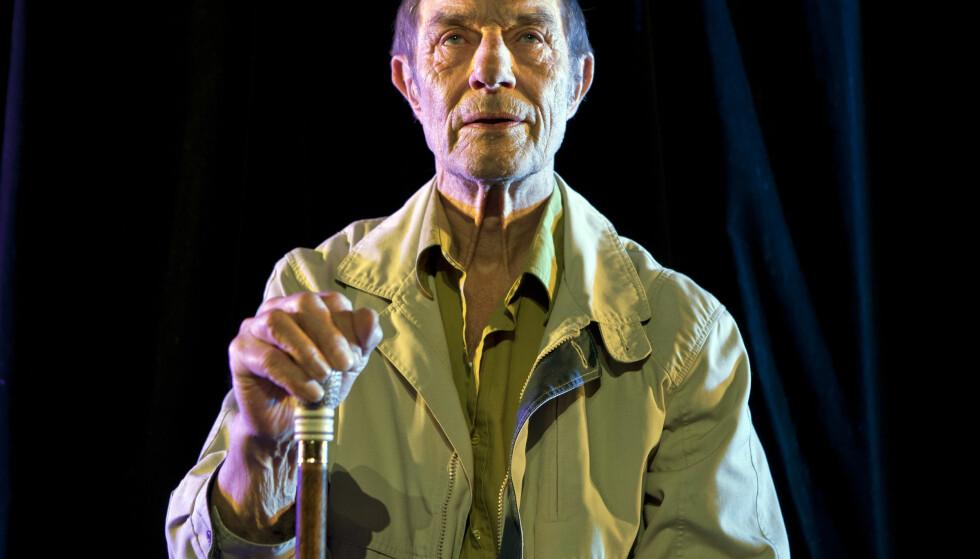 DØD: Skuespiller og kunstner Baard Owe er død, 81 år gammel. Foto: Thomas Petri / NTB scanpix