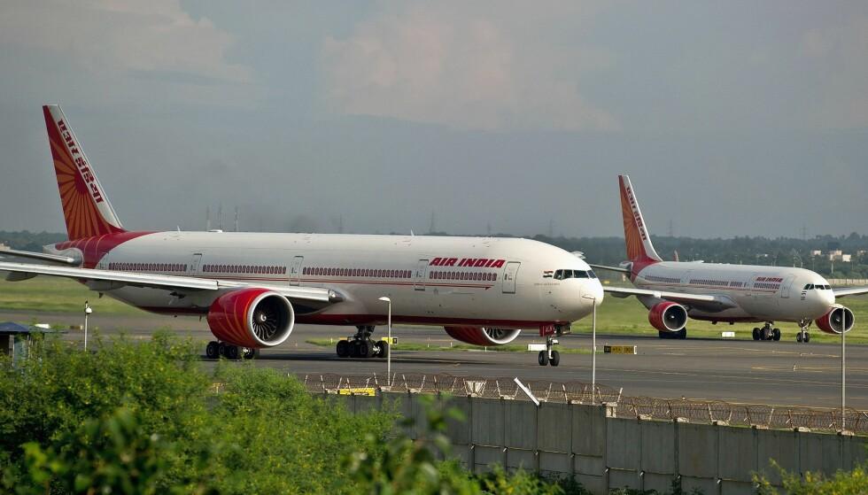 TOK KVELDEN: Da Air India-omsider hadde takset ut mot rullebanen og begynte å nærme seg avgang, fant piloten ut at arbeidsdagen var over, og forlot flyet. Arkivfoto: NTB Scanpix
