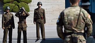 Nordkoreansk soldat skutt av sine egne da han la på sprang over grensa