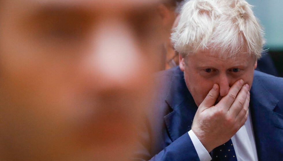 Britain's Foreign Secretary Boris Johnson attends a European Union foreign ministers' meeting in Brussels, Belgium, November 13, 2017. REUTERS/Yves Herman