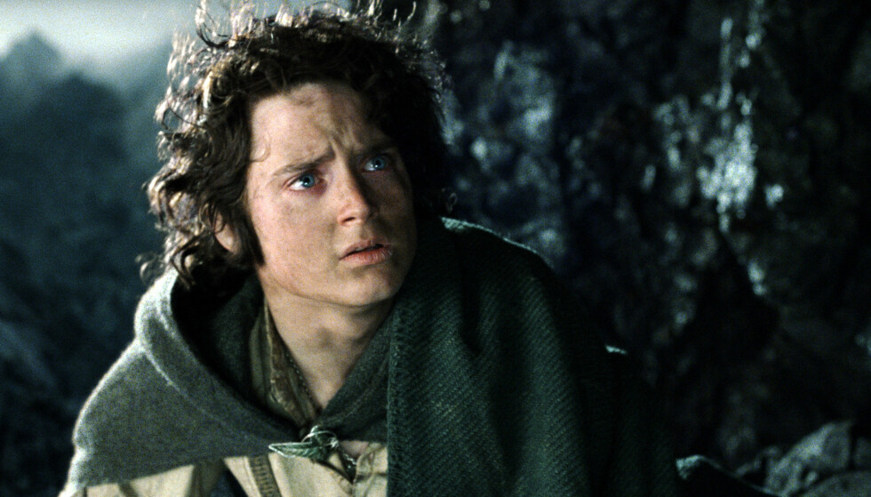 PÅ FLATSKJERMEN: De populære karakterene fra Tolkiens univers kommer på tv. Her Frodo Baggins, spilt av Elijah Wood i Peter Jacksons film «Ringenes herre: Atter en Konge». Foto: Filmweb