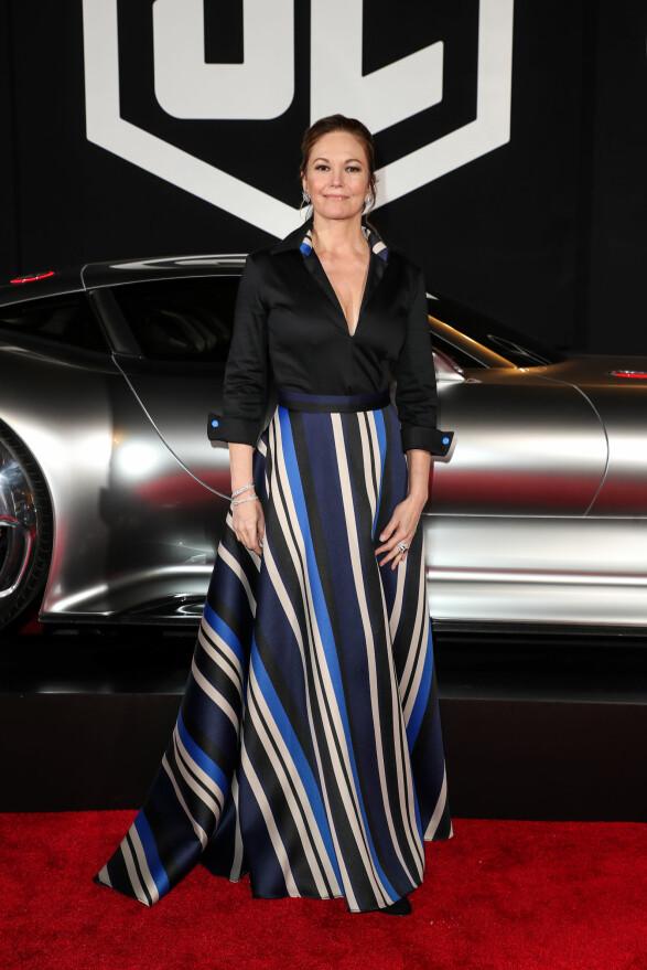 RUTINERT: Diane Lane spller rollen som Supermanns mor, Martha Kent, i den nye filmen. Foto: NTB Scanpix.