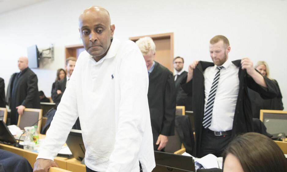 SULT: Metkel Betew under rettssaken i Oslo tingrett i etterkant av Operasjon Sult. Foto: NTB scanpix