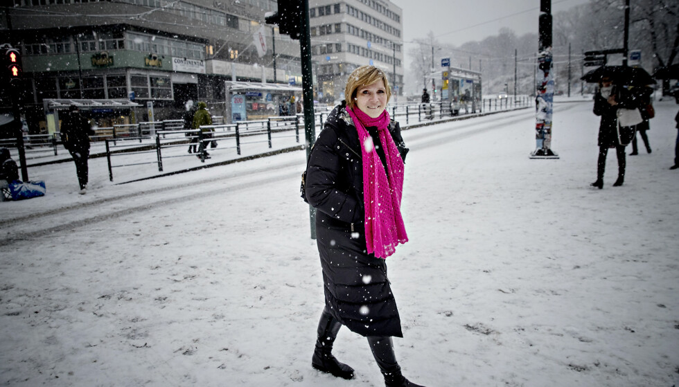 NOMINERT: Tidligere direktør i SSB Christine B. Meyer sier det har vært tøft å stå i stormen, men hun håper det var verdt det. Foto: Bjørn Langsem