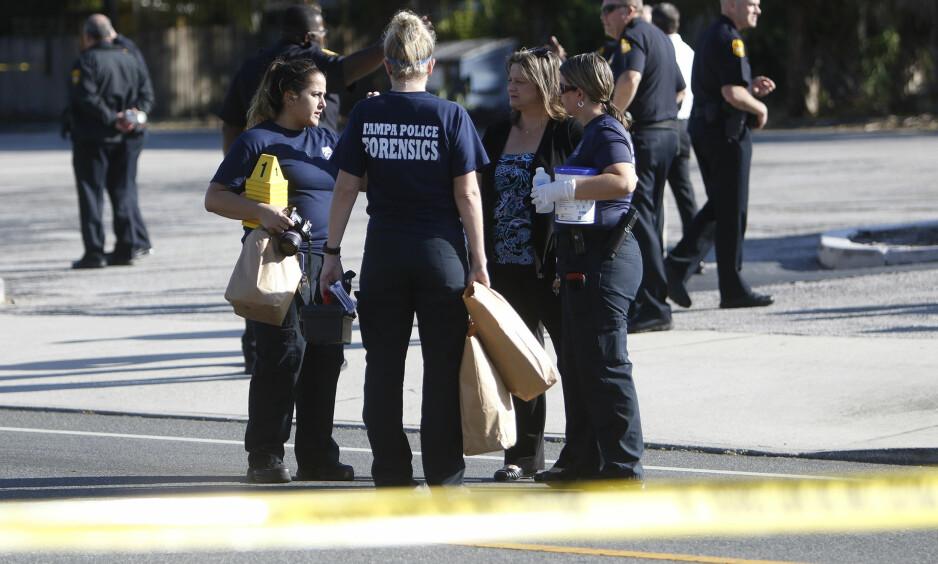 NYTT DRAP: I løpet av en drøy måned har fire personer blitt drept i det samme nabolaget i byen Tampa i Florida. Foto: Jones, Octavio / Tampa Bay Times via AP / NTB scanpix