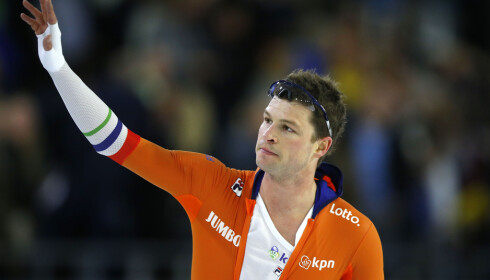 GRUBLER: Sven Kramer og resten av Nederland ser ut til å få en helt annen motstand fra Norge denne OL-sesongen. Foto: NTB Scanpix