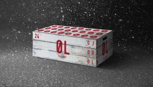 EN ØL OM DAGEN: 24 små håndverksøl i kalender hos Norgesgruppen koster 999 kroner.