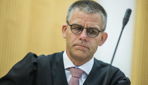 FORSVARER: Advokat Vegard Aaløkken forsvarer en av de tre domfelte. Foto: Berit Roald / NTB scanpix