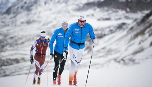 ETTER PLANEN: Petter Northug har unngått skader og sykdomsproblemer og trent godt gjennom høsten. Foto: Bjørn Langsem / Dagbladet.