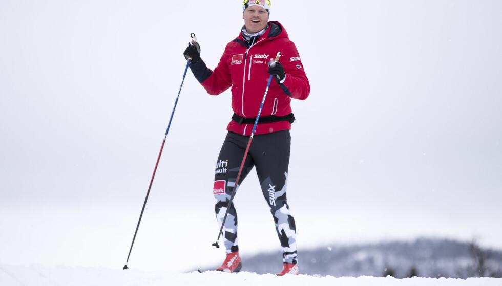 PÅ SKI: John Arne Riise satser på langløp. Foto: Terje Pedersen / NTB scanpix