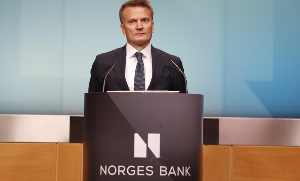 NORGES BANK: - Rådet er utelukkende basert på finansielle argumenter, sier visesentralbanksjef Egil Matsen. Foto: Torstein Bøe / NTB scanpix