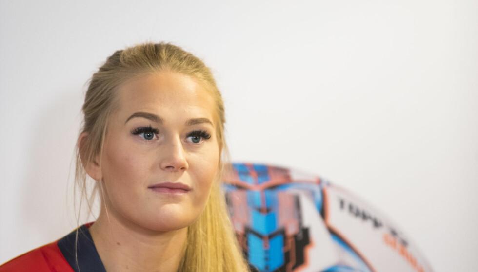 NY KLUBB: Den norske fotballspilleren Lisa-Marie Utland har signert toårskontrakt med den svenske mesterligaklubben FC Rosengård.  Foto: Håkon Mosvold Larsen / NTB scanpix