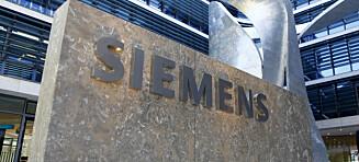 Siemens kutter 6900 arbeidsplasser