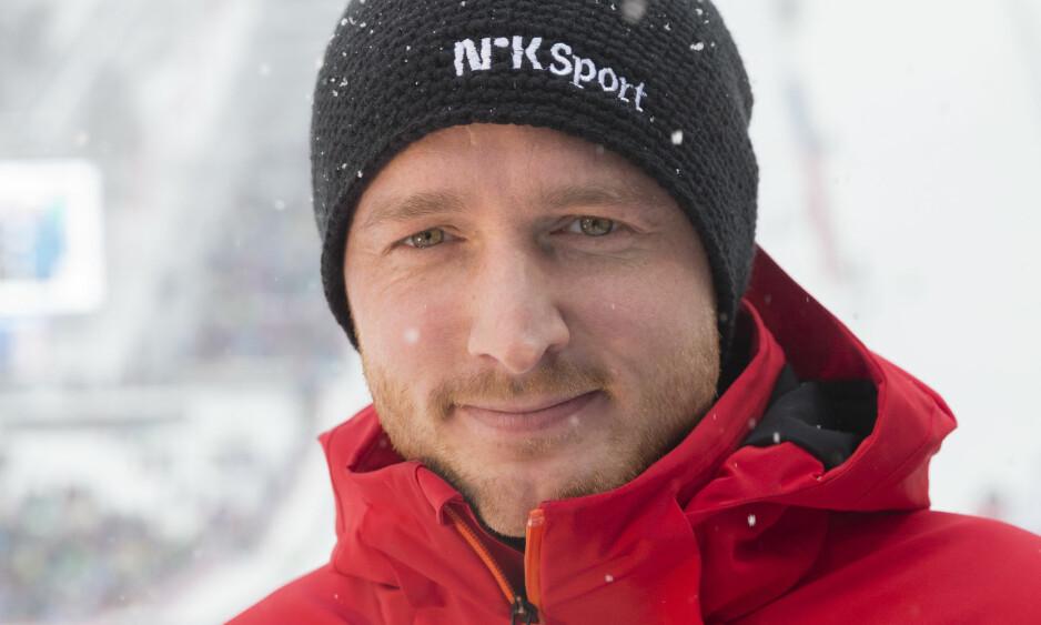 REDNINGSMANN: Johan Remen Evensen følger verdenscupåpningen i Polen for NRK. Foto: Terje Bendiksby / NTB scanpix