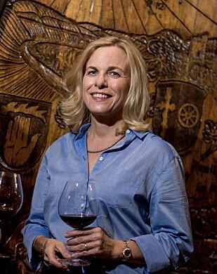 DRAMATISK: Vinprodusent Claudia Schug Schuetz opplevde brannene på nært hold. Foto: Schug Carneros Estate Winery