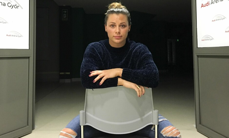 TAR KAMPEN: Nora Mørk har tatt opp kampen mot mannen som har hacket mobilen hennes og stjålet private bilder og de som har delt bildene på nettet.    Foto: Espen Hartvig / NTB Scanpix