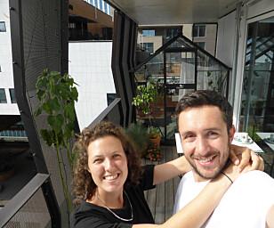 SUKSESS: Stuntet med å hente Sam og Marela fra en frustrert turist-tilværelse i Paris til en maksimert miniferie i Oslo ble en megasuksess på sosisle medier. Foto: Sam og Marela
