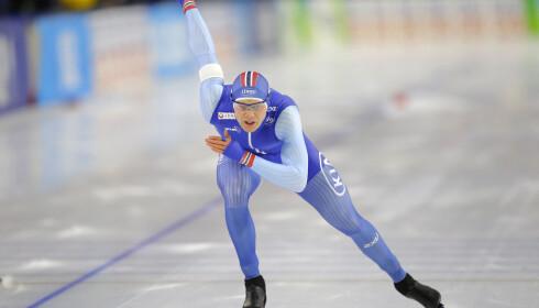 GULLKANDIDAT: Håvard Holmefjord Lorentzen seiler opp som en glohet gullkandidat i OL. Foto: NTB Scanpix