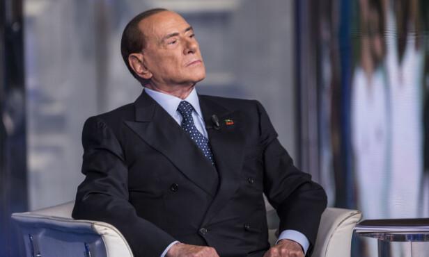 TILBAKE I POLITIKKEN: Seieren over ekskona kommer samtidig som Berlusconi gjør susksess i politikken. Foto: NTB Scanpix.