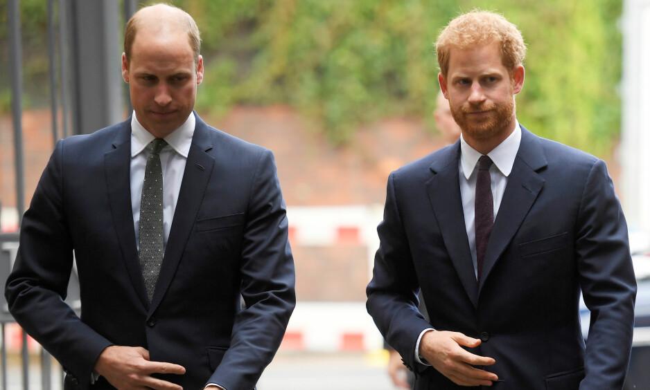 FÅR SPILLE I STAR WARS: Prins William og prins Harry skal ifølge The Hollywood Reporter medvirke i den nyeste «Star Wars»-filmen. Foto: Reuters