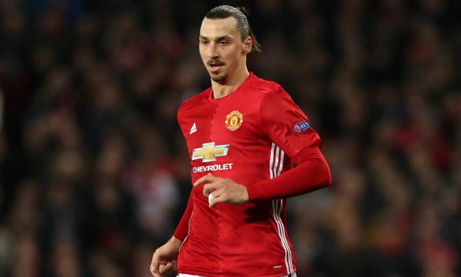 Comeback: Fredag avslørte Manchester United-manager José Mourinho at Zlatan Ibrahimovic er tilbake fra korsbåndsskaden som har holdt ham ut av spill i sju måneder. Foto: NTB Scanpix