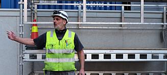 Walter (53) utnyttet på norsk byggeplass. - Jobbet ti timer dagen uten overtid